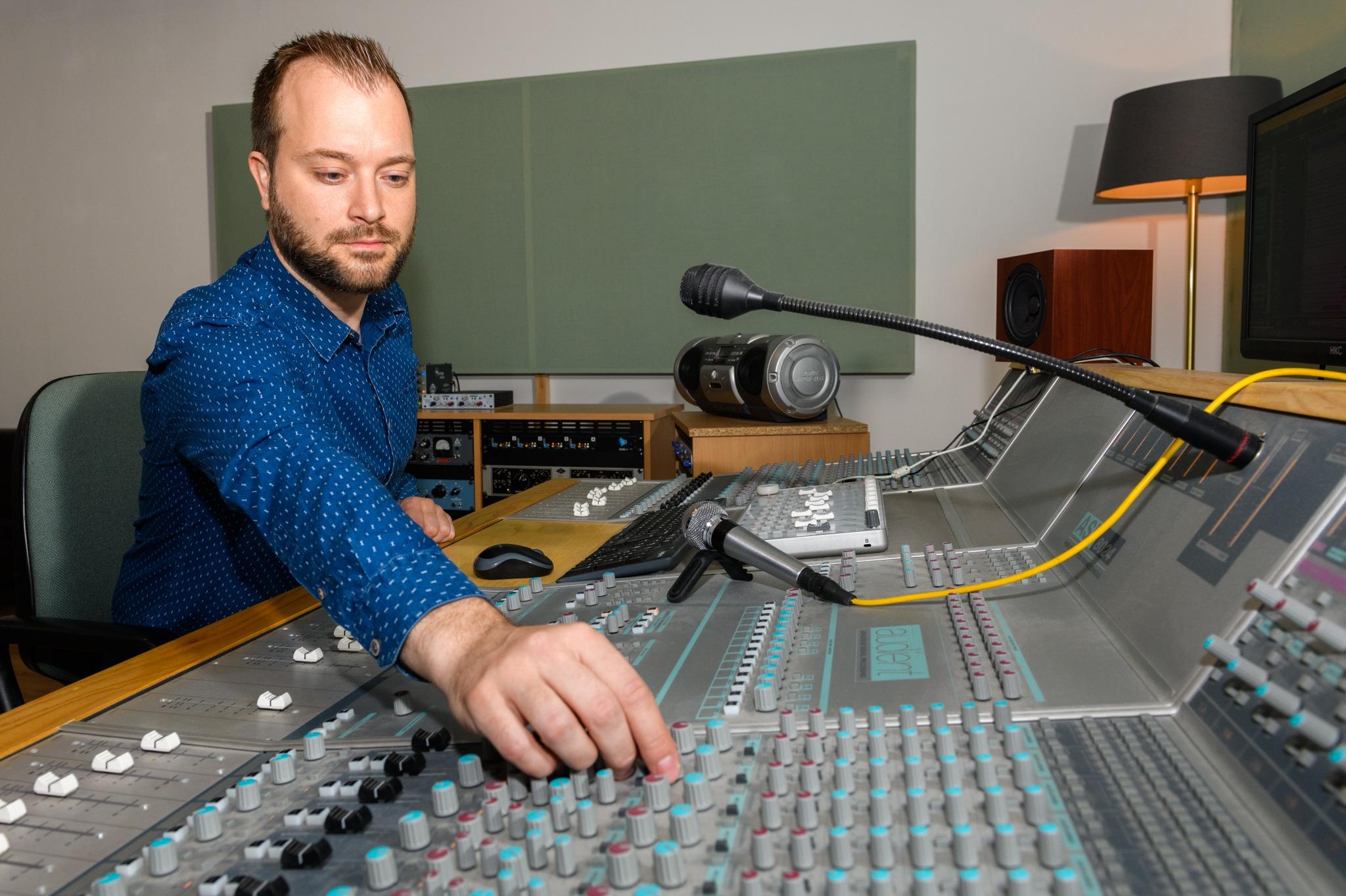 Opnames EP Jeroen Timmermans