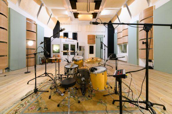 drums opnemen geluidsstudio