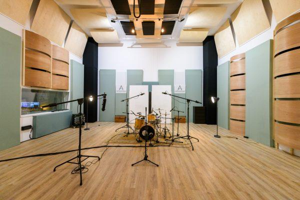 cd opnemen of single opnemen in muziekstudio